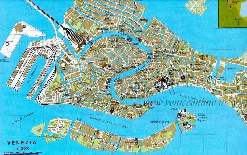 venecija mapa Venecija kajakom ili kanuom | Rafting Srbija   Klub Ekstreminih  venecija mapa