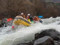 Novogodišnji rafting - New Year's rafting - Ibar