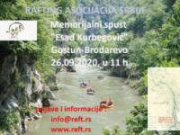 """Memorijalni spust """"Esad Kurbegović"""", reka Lim, Gostun-Brodarevo"""
