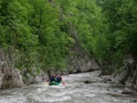 Veliki Rzav - rafting 1 dan