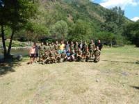 Ibar 08-09.07.2017 - Tim-bilding, trening sa Eko-Lim Priboj i Vojnom Akademijom