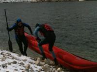 Otvorena sezona 2013. Zaovinsko Jezero 06.01.2013.