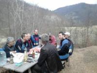 Veliki Rzav, kanjon Orlovače 19.03.2017